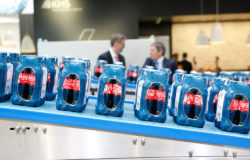 Clearer packaging labels are to provide better information for the consumer, thus supporting sustainable reuse. Photo: Messe Düsseldorf, Constanze Tillmann
