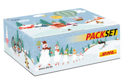 Beautiful packaging: Special editions of packaging sets are highly popular during the Christmas season and are quickly sold out. Photo: Deutsche Post AG