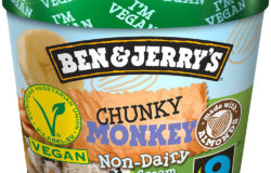 Ben & Jerry's ice cream cups