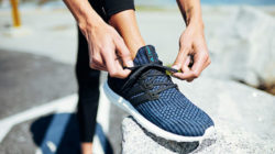 It doesn't just look good: The Adidas FUTURECRAFT.LOOP is a running shoe that is 100% recyclable. Photo: ADIDAS AG