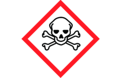 GHS06: Toxic/ Pictogram: www.reach-compliance.ch