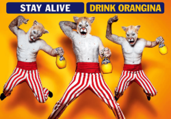 "Fun head over heels: the French campaign ""C'est shook"" is designed to bring back fond childhood memories of holidays in France among young-at-heart adults. Photo: Orangina"