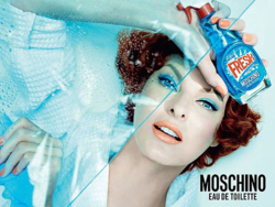 90s super model Linda Evangelista is the face of the campaign for Fresh Couture by Moschino. Photo: Steven Meisel for Moschino