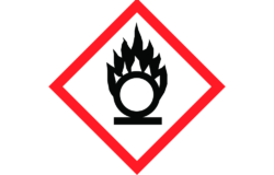 GHS03: Oxidizing/ Pictogram: www.reach-compliance.ch