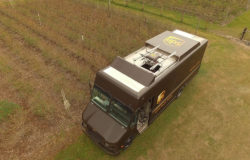 If UPS shifted parcel delivery to drones for just one mile each day, US$ 50 million could be saved every year. Photo: UPS